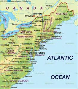 map of us east coast cing east coast usa east coast map of the