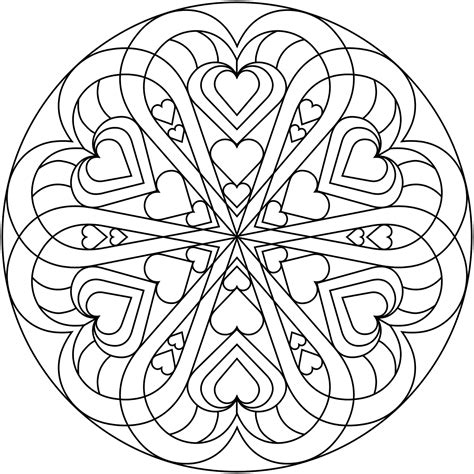 color my hearts coloring book one books m 225 ndalas para colorear dibujos mandalas para imprimir