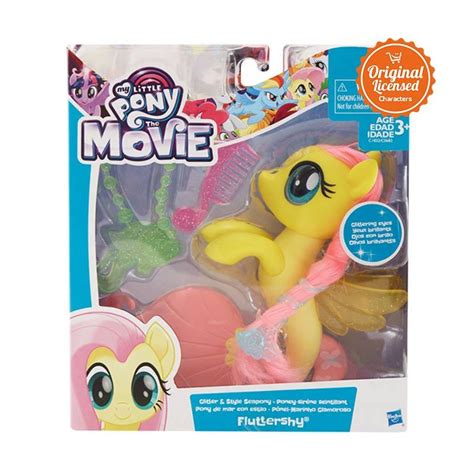 film anak my little pony jual my little pony fluttershy cl037mlpc1832 mainan anak