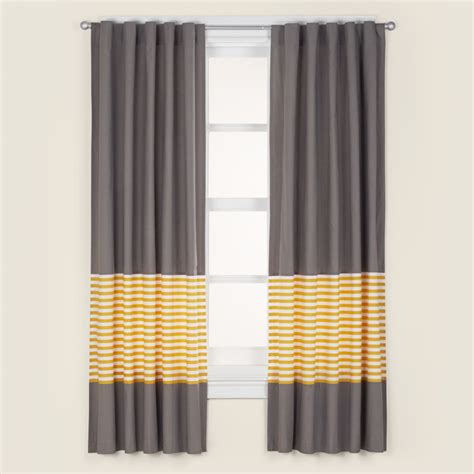 Gray And White Blackout Curtains Grey And White Striped Blackout Curtains Curtain Menzilperde Net