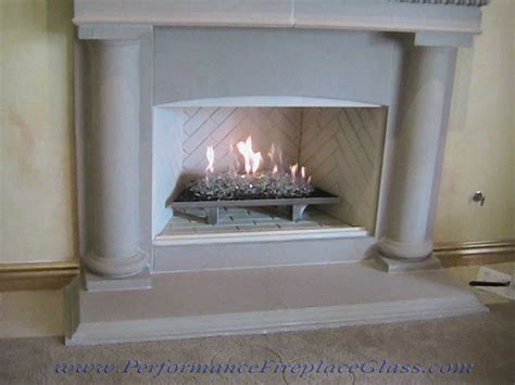 glass fireplace performance fireplace glass