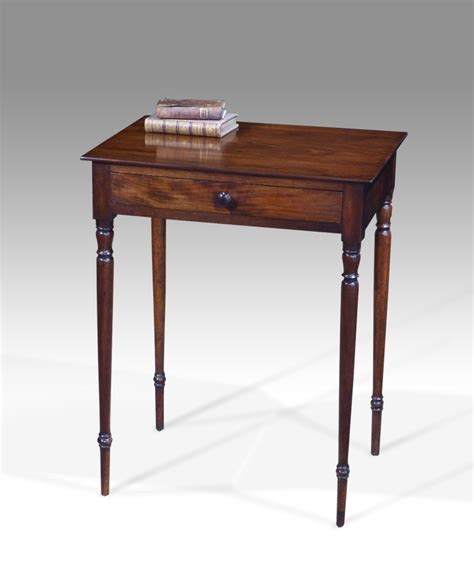 Small Side Table L Small Antique Side Table Square Georgian Table Georgian