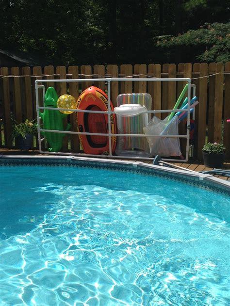 pool floats best 25 pool float storage ideas on pool