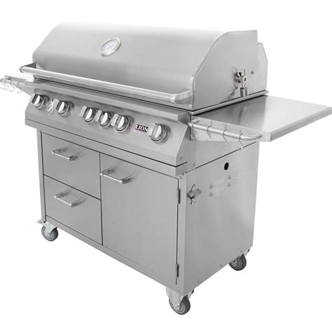 backyard grill gas grill lion 40 inch gas grill l90000 stainless steel