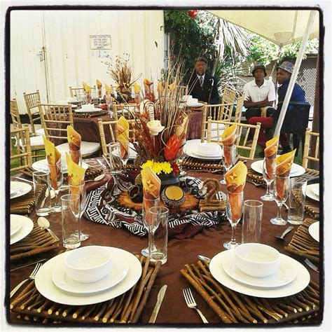 african themed decor traditional african wedding centerpieces and decor www