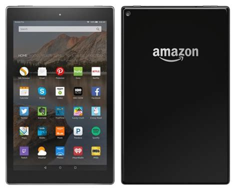 amazon os 10 inch kindle fire tablet shows off a brand new fire os