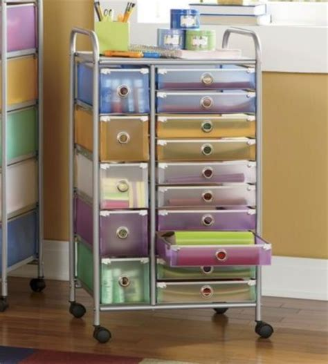 click pic for 34 diy makeup storage ideas trolley with