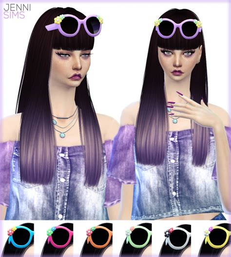 bow headband at jenni sims 187 sims 4 updates sunglasses and bow headband at jenni sims 187 sims 4 updates