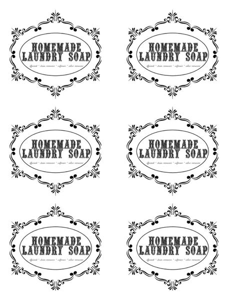 printable laundry labels labels for homemade laundry soap crazy homemade