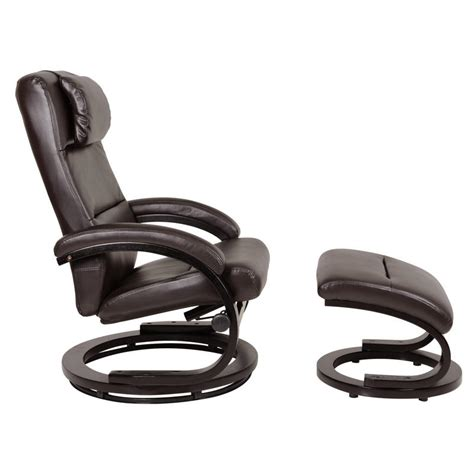 Relaxer Recliner Chair by Brown Relaxer Chair Recliner Armchair With Foot Stool