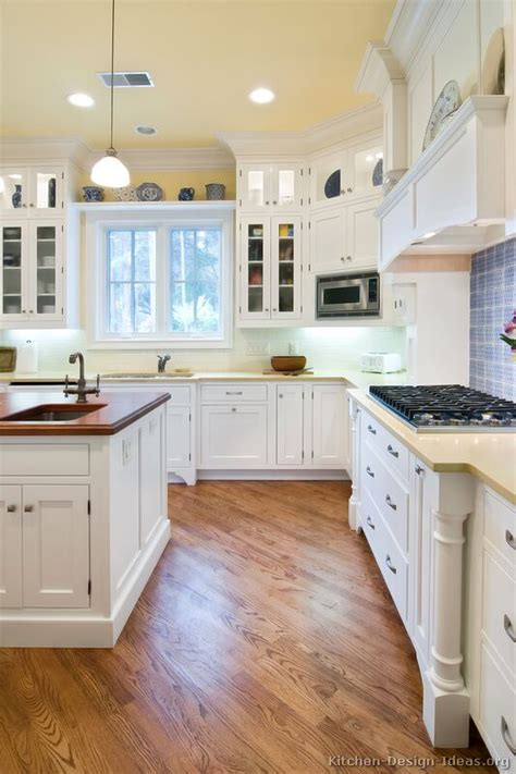 White Cabinets For Kitchen | pictures of kitchens traditional white kitchen