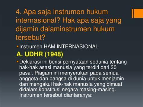 Yayasan Obor Instrumen Internasional Pokok Hak Asasi Manusia tugas pp kn hak asasi manusia