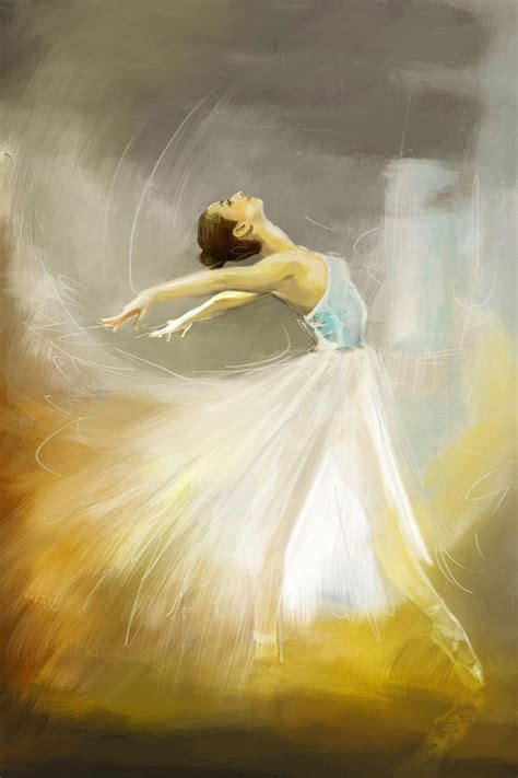 Easy To Make Home Decor by Ballerina Painting By Corporate Art Task Force