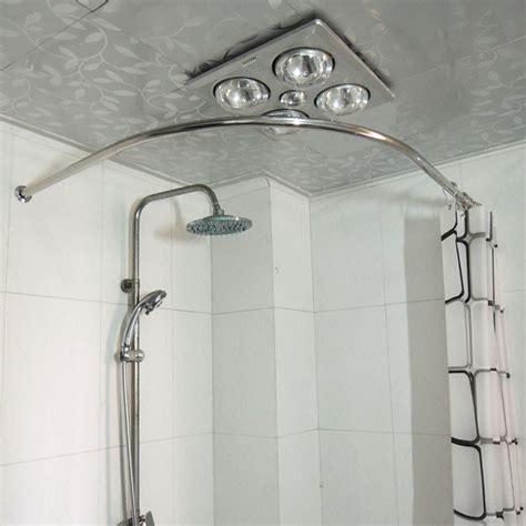 stall shower curtain rod photos curved shower rod home interior desgin