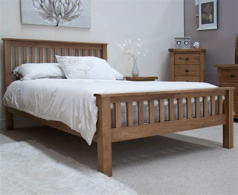 rustic king size bed rustic oak king size bed the great furniture trading company