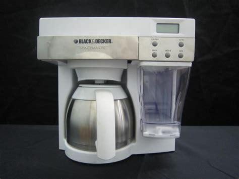 black decker spacemaker mount coffee maker