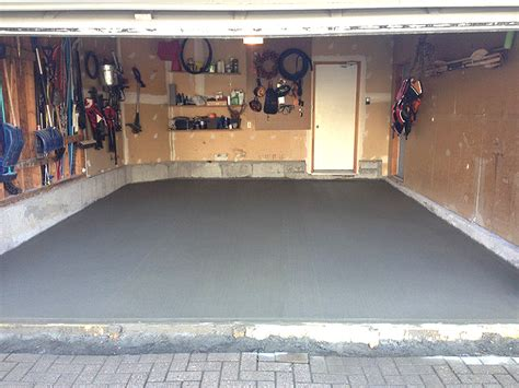 Garage Floor Repair Dave Marcotte Foundations Foundation Repair And Waterproofing Garage Floors Ottawa