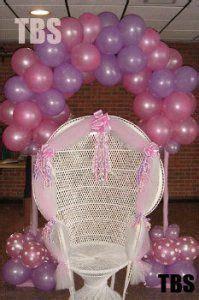 Sillas Para Baby Shower by Arco Globos Baby Shower Silla Decorada Decoraciones De