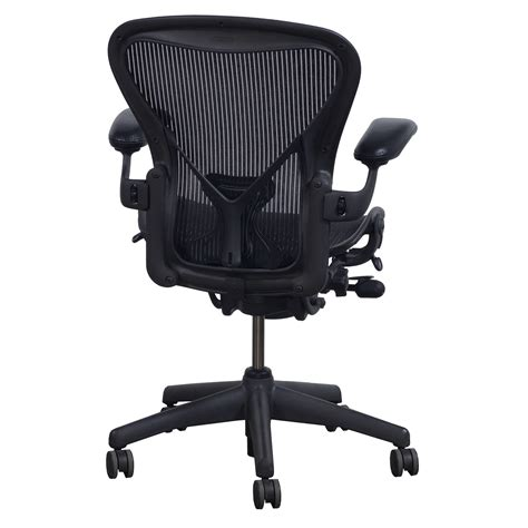 aeron miller chair sizes herman miller aeron posturefit used size b leather arm