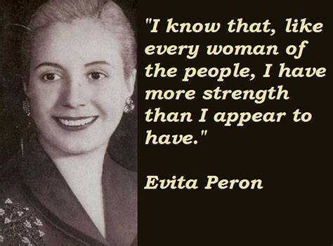 eva peron biography in spanish evita peron s quotes famous and not much quotationof com