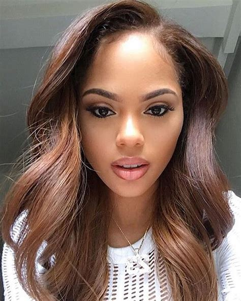 light brown hairstyles on black women 2018 hair color trends for black african american women