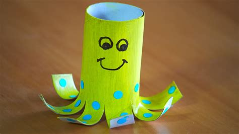 What Can You Make Out Of A Toilet Paper Roll - how to make a toilet roll octopus