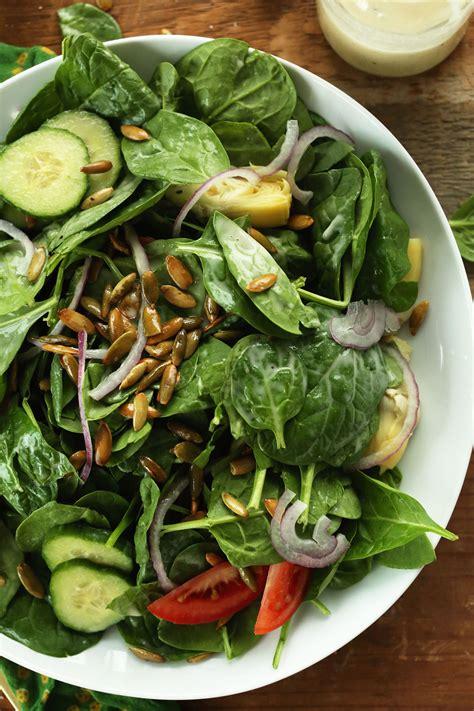 Spinach Detox Salad by Spinach Salad Minimalist Baker Recipes