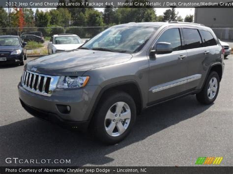 gray jeep grand cherokee mineral gray metallic 2012 jeep grand cherokee laredo x
