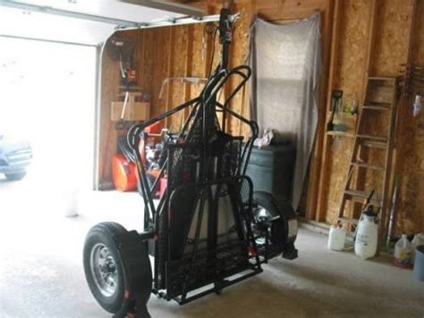 kendon single ride  srl stand  motorcycle trailer