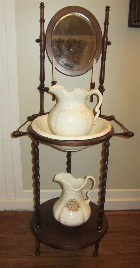antique wash stand remember when