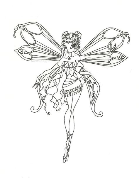 winx club believix coloring pages winx club enchantix layla coloring page by winxmagic237