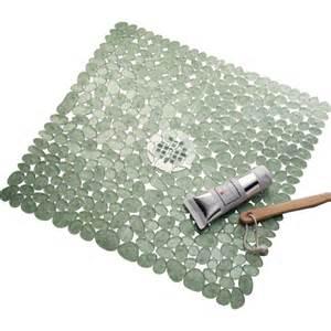interdesign bath mat green in shower and bath mats