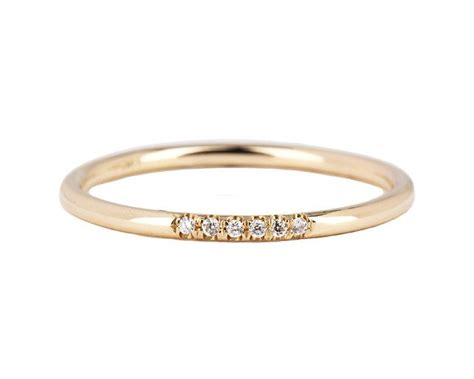 1000 ideas about pave ring on wedding rings
