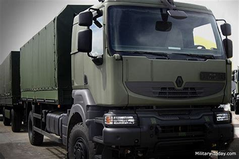 renault trucks defense renault kerax 4x4 heavy utility truck military today com