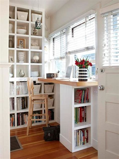 22 Space Saving Ideas For Small Home Office Storage Small Home Office Storage Ideas
