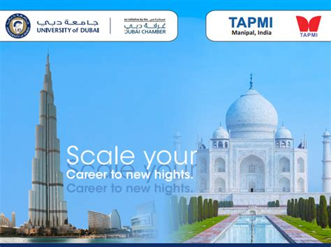 Tapmi Mba Placements by Of Dubai On Quot Ud In Collaboration With