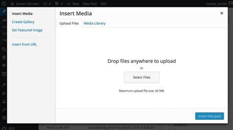 wordpress tutorial upload image how to include the wordpress media selector in your plugin