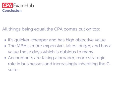 Cpa From Mba by Cpa V Mba Which Is Better For An Accountant