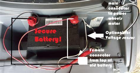 upgrade  power wheels battery longer lasting