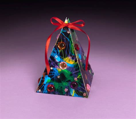multicolored christmas tree craft crayola com