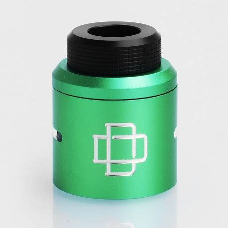 Cap Druga 24mm Authentic Atomizer Top Cap Rda Vapor Vape authentic augvape druga rda green aluminum top cap kit w drip tip