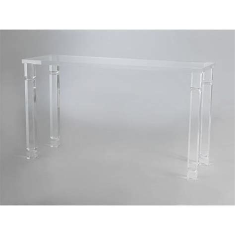 Ghost Console Table Ghost Square Table