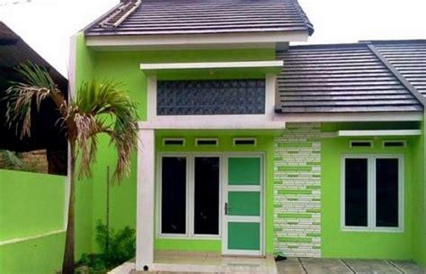 rumah warna hijau desainrumahidcom