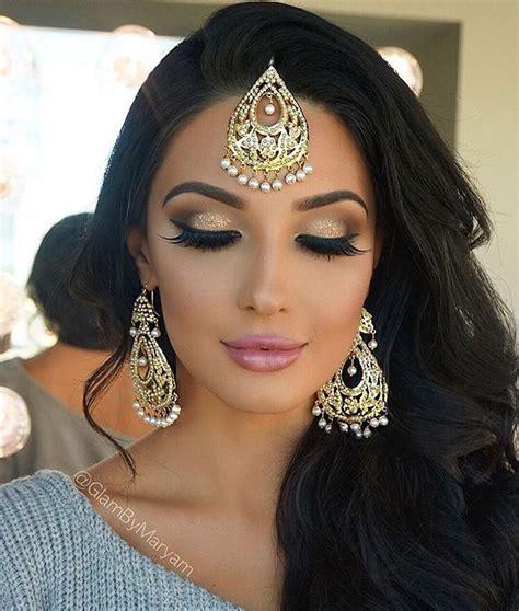 indian bridal hairstyles and makeup indian occasion makeup fashion pinterest makeup