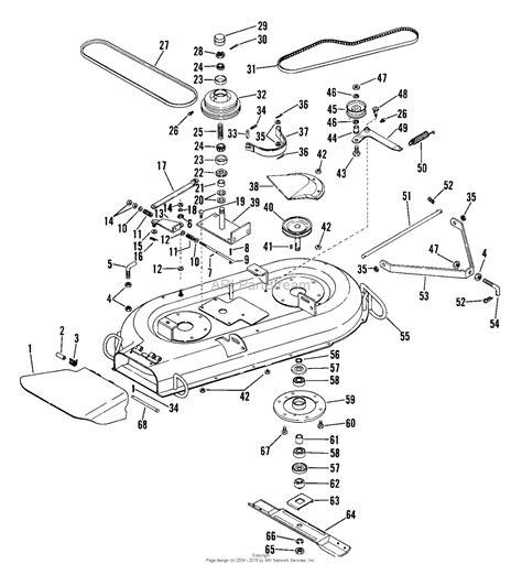 mower diagram rotary lawn mower engine within push mower engine