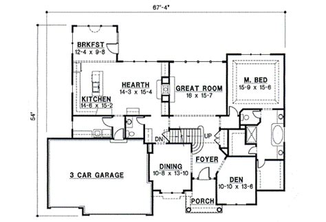 blueprints for a house house 8742 blueprint details floor plans