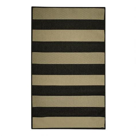 Striped Indoor Outdoor Rugs Striped Indoor Outdoor Rug Tree Shops Andthat