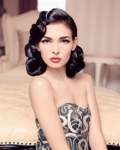 retro hairstyle updo short hair vintage hairstyles for short hair 2017 new haircuts to