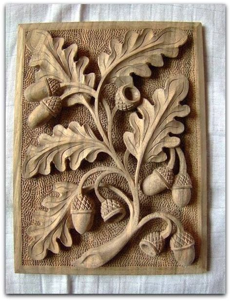 leaf pattern relief carving wood carvings on pinterest woodcarving wood sculpture