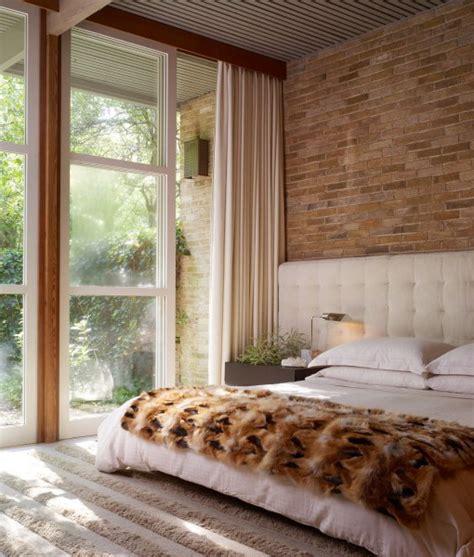 brick wall bedroom choosing materials for the wall the headboard 55